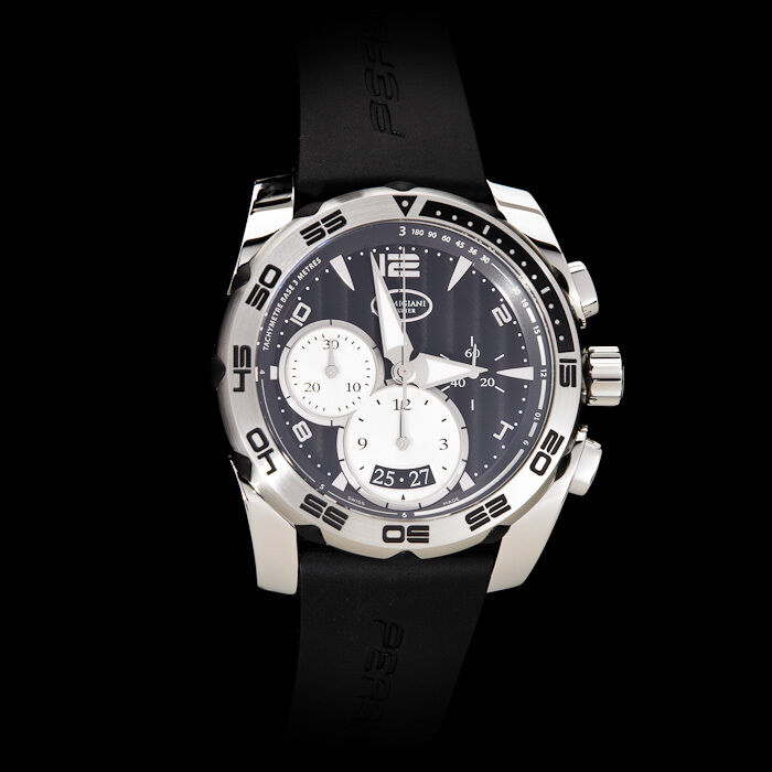Parmigiani Fleurier Pershing 002 Automatic Chronograph. Black Dial - watch picture 1