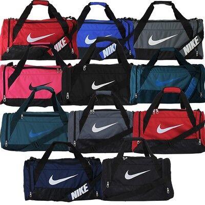 9cc100dac1a17 Nike Brasilia 6 Sporttasche M S XS Schwarz Blau Rot Petrol Grau Training  Gym NEU
