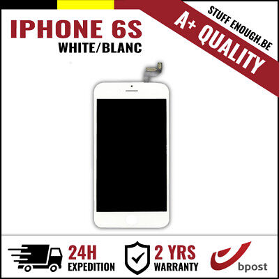 A+ LCD TOUCH SCREEN VITRE TACTILE DISPLAY/SCHERM/ÉCRAN WHITE BLANC FOR IPHONE 6S