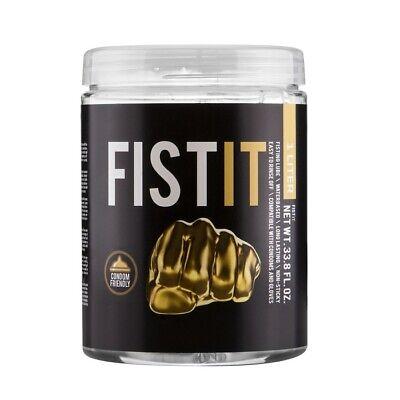 lubrificante FistIT anale fisting gel per dildo e giochi INTIMI 1000ml sexy lube