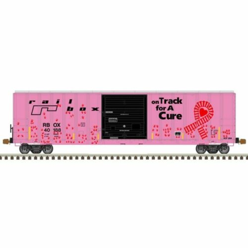 ATLAS N GAUGE FMC 5077 SD BOX CAR ON TRACK FOR CURE W/HANDS #40188 PN 50005610