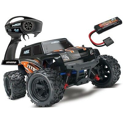 NEW Traxxas LaTrax Teton 1/18 4WD RTR RC Monster Truck ORANGE w/BATT & CHARGER!