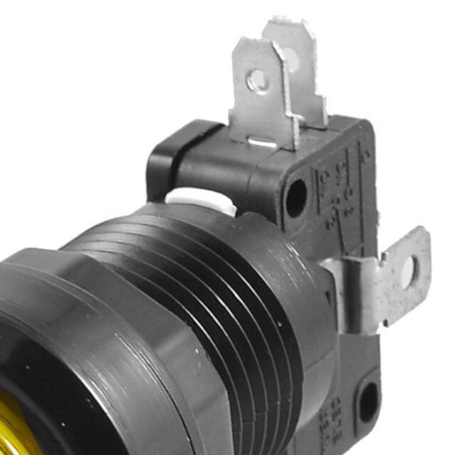 24mm Yellow Illuminated Momentary Push Button SPDT Micro Switch SY High Quality