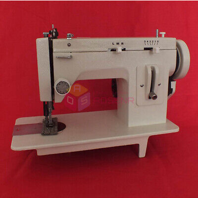 Walking Foot Zigzag Stitch 7inch Arm Sewing Machine Leather Sewing Machine