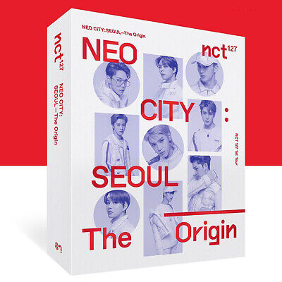 NCT 127 NEO CITY : SEOUL [THE ORIGIN] KIT VIDEO+Kit Bag+Foto Buch K-POP SEALED