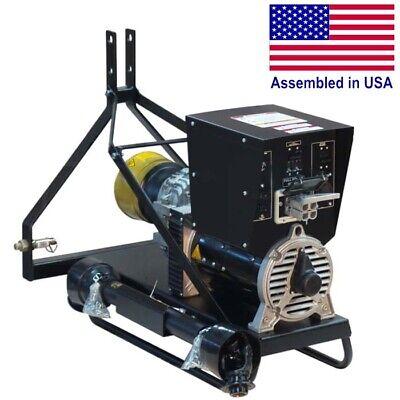 Pto Generator - 10000 Watts - 20000 Surge - 120240v - 1ph - Brushless - 20 Hp