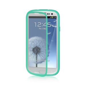 For Samsung Galaxy S III S3 TPU Wrap Up Case w/ Built in Screen Protector