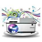 C9 LED Projector met Android en Bluetooth - Beamer Home Medi