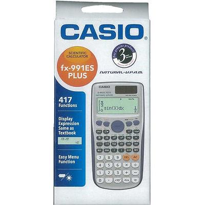 Casio Fx 991 Es Plus Scientific Calculator  Fx991es     417 Functions Usa Seller