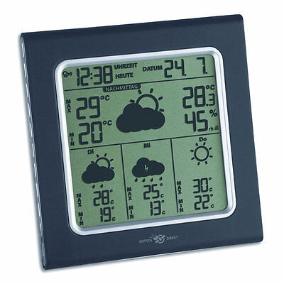 B-WARE WETTERSTATION WETTERCENTER TFA 35.5001 IT GALILEO PLUS WETTERDIREKT
