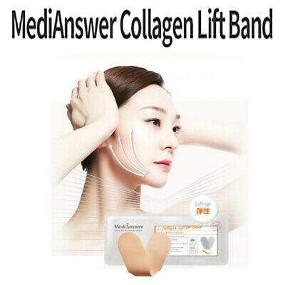 [MediAnswer] Collagen Lift-Up Band Excellent Elasticity Collagen 4 Band in 1 Box