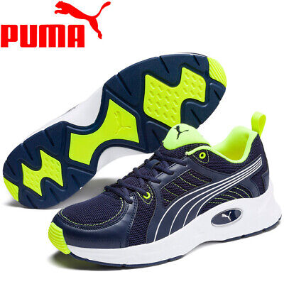 Men's Puma Nucleus Run Peacoat Blue / Silver Running Shoes Trainers UK 6  - 12