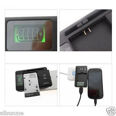 Cellulare Universale Caricabatterie LCD SPIA SCHERMO PER TELEFONI PORTA USB