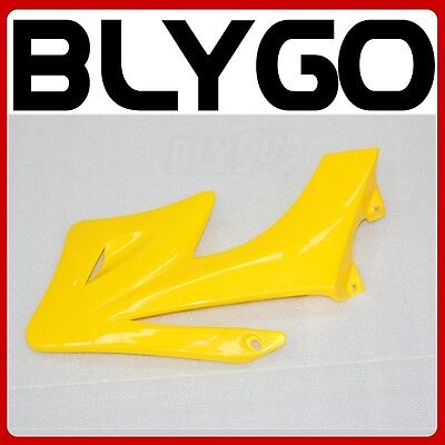 Yellow Plastic Front RIGHT Tank Side Guard Fender APOLLO ORION 250 PIT Dirt Bike