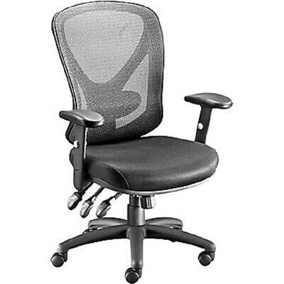 Staples Carder Mesh Back Fabric Computer And Desk Chair Black