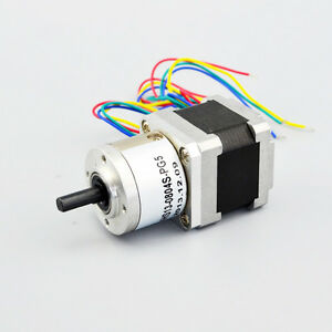 nema 14 stepper motor gear 5 1 ratio planetary gearbox