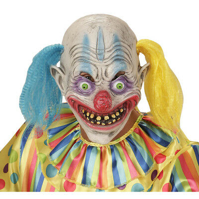 KILLER CLOWN MASKE # Halloween Horrorclown Killerclown Horror - Killer Clown Maske Kostüme