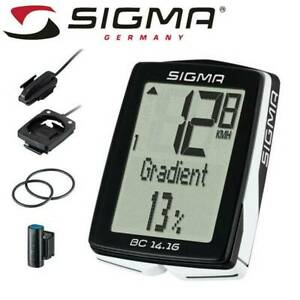 Half Price** Sigma 14 16 Bike Computer - Wired, 14 Functions