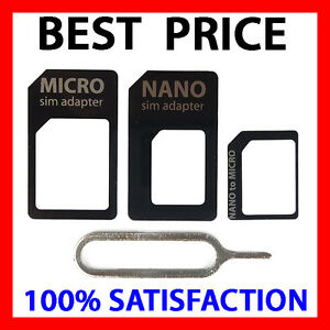 what size sim card for iphone 5 sim card adapter kit 4 in 1 nano micro standard size 20564