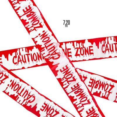 NEU Absperrband Zombie Zone, 7,2 m