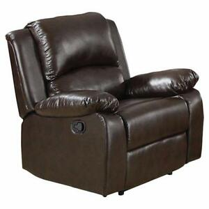 Mill City Recliner by Red Barrel Studio RDBS3116 Chocolate - Brand New