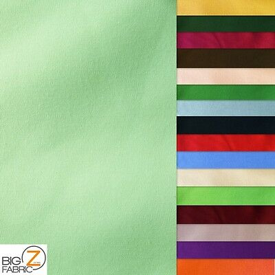 Fabric 30 Yard Bolt - SOLID POLYCOTTON FABRIC - 30 YARD BOLT - 25 COLORS CLOTHING BROADCLOTH ROLL