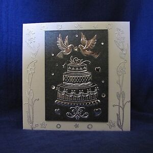 'Wedding Cake and Love Birds' Silver on Charcoal and Ivory Pearli Clifton Beach Cairns City Preview