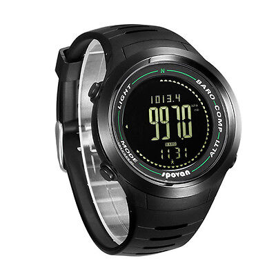 Spovan Smooth Dial Sports Watch Altimeter Barometer Compass Pedometer Wristwatch