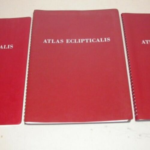 Set of Three Star Atlases Borealis, Eclipticalis, and Austrailis by Becvar