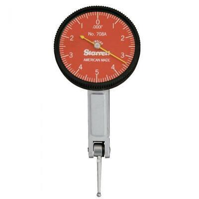 Starrett R708az Dial Test Indicator .010 Range .0001 Graduation