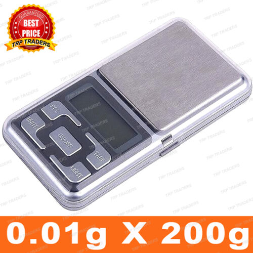 Digital Display 200g Mini Pocket Weight Scale Measurement Weighing Machine available at Ebay for Rs.321