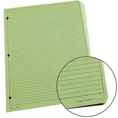 Rite in the Rain 982-MX All-Weather Universal Loose Leaf, Green, 8.5