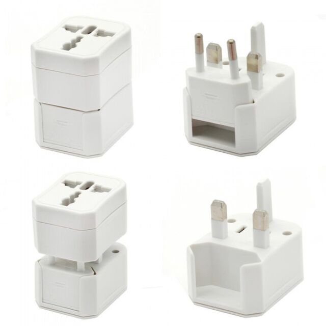Pure² Universal 5in1 Traveladapter for Charger / Plug US UK EU AU white
