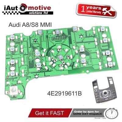 Audi A8 S8 Mmi Navegación Control Panel Eléctrico Circuito Placa 4E2919611 Sline