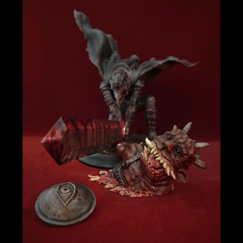 Art Of War Berserk No.456 - Guts 1/6 Scale Berserk Slash Bloodshed Repainting