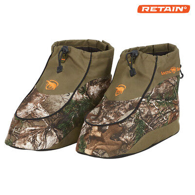 Insulated Boot Covers for Hunting/Ice Fishing -Realtree Camo -Size L 10-11 (Camo Boot Covers)