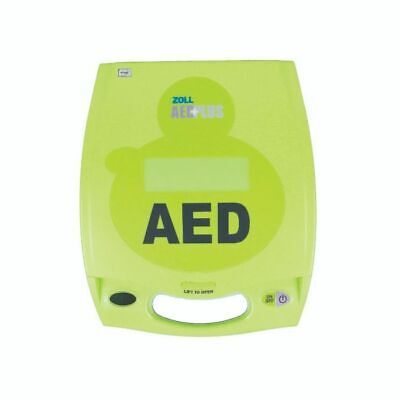 Zoll Aed Plus Defibrillator With Pads Batteries And Carry Case