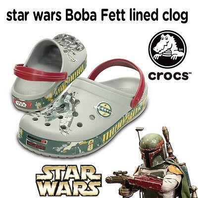 CROCS Clogs - STAR WARS - Boba Fett Clogs - Größe 39/40 - NEU