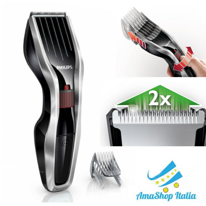 Tagliacapelli Regolacapelli Serie 5000 Philips HC5440/16 Tecnologia Dual Cut