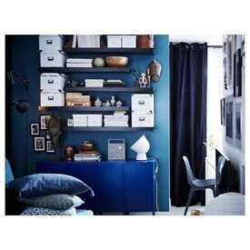 IKEA LACK black-brown shelf 110x26 cm NEW