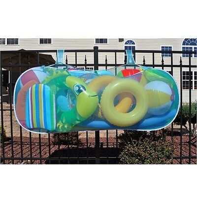 Water Tech Blaster Swimming Pool Float Raft Toys Pouch Holder Storage Organizers