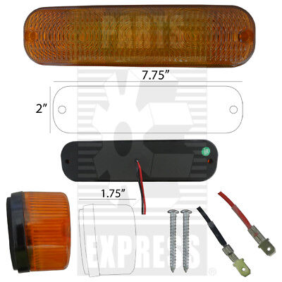 Led Cab Roof Warning Light Part Wn-ar60250 For Tractors Deere Allis Chalmers