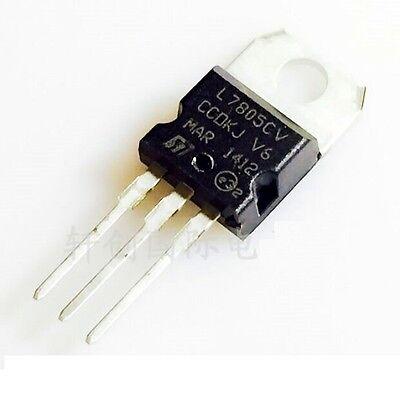 Pack of 1-50 +5V Positive Voltage Regulator L7805CV L7805C LM7805 7805 TO-220