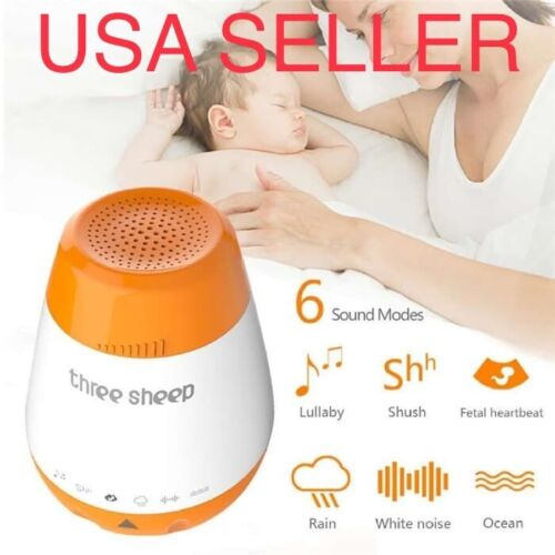 Smart USB Baby Sound Machine - Infant Noise Maker - Sleep Sh