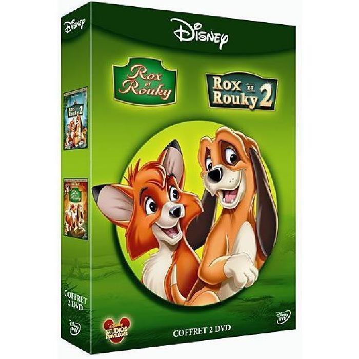 Coffret DVD Rox et Rouky 1 & 2