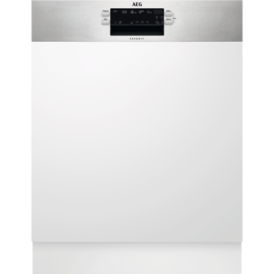 AEG FES 5360XZM Geschirrspüler teilintegriert 60 cm A+++  Edelstahl Display 42dB
