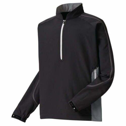FootJoy FJ Mens Sport Windshirt  - Black #32609
