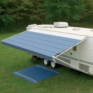 Dometic™ 8300 Awning 16ft - Blue Steel - Fabric On Roll (No Arms)
