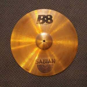 Sabian B8 cymbale Ride 20 - used-usage