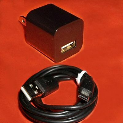 Power Supply Wall Charger   Usb Cable For Google Chromecast Roku Streaming Stick